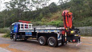 Munck MD45007 Scania Traçado P250 montagem Traseira