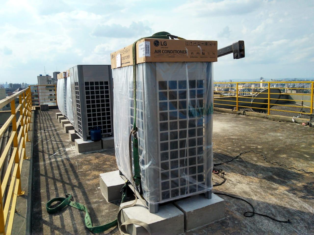 Içamento de ar condicionado - Chiller