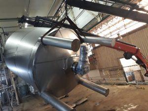Remoção Industrial - Montagem de Tanques