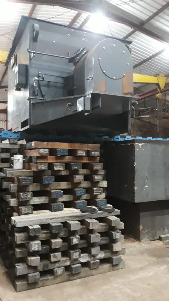 Remoção industrial - Gerador 31 toneladas