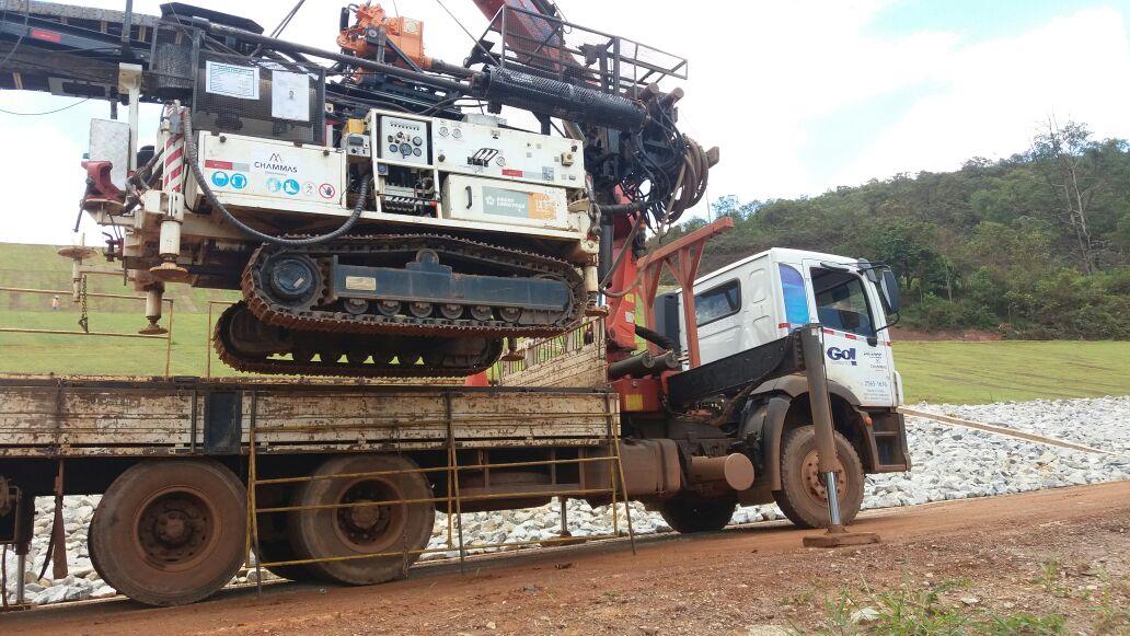 Movimentação de Máquinas Go! Guindastes na Mineração