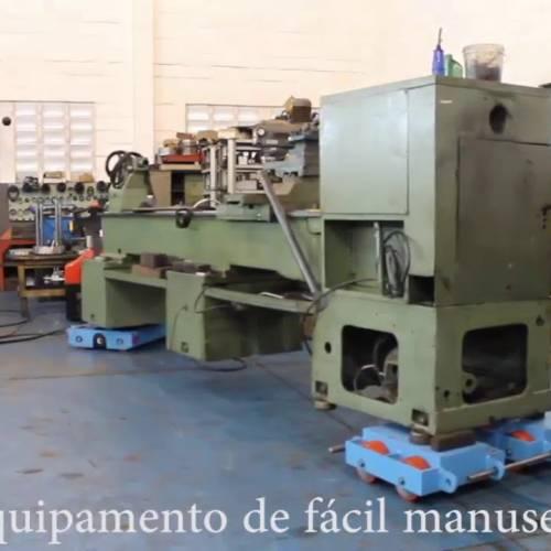 A Tartaruga Hidráulica para remoção de Máquinas Industriais